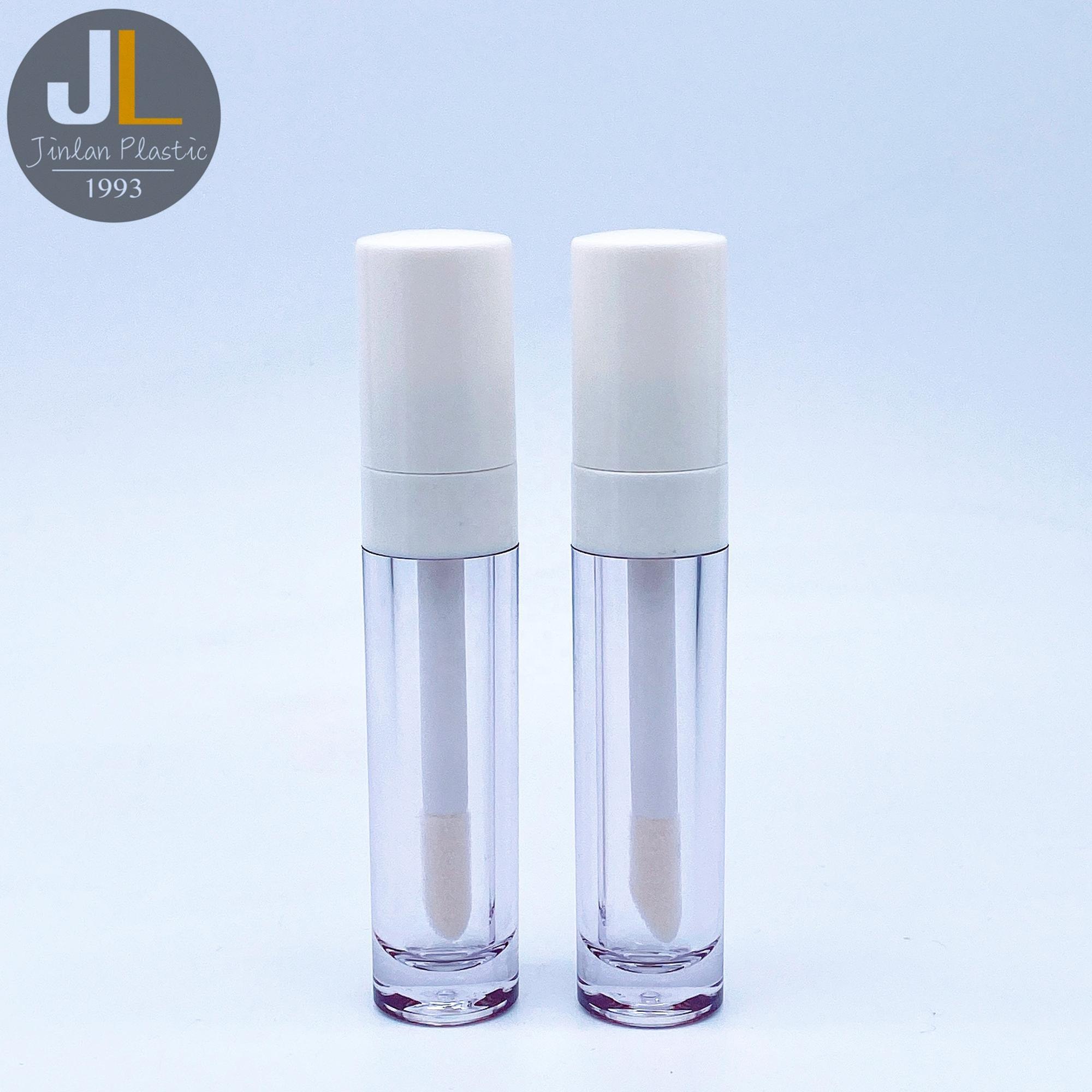 8ml Empty Thick Plastic Liquid Lip Gloss Tube with Big Brush
