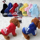 sports adidog products spring autumn winter wholesale custom designer apparel pet cat dog clothes