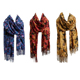 Wholesale low price quality ladies flower viscose scarf