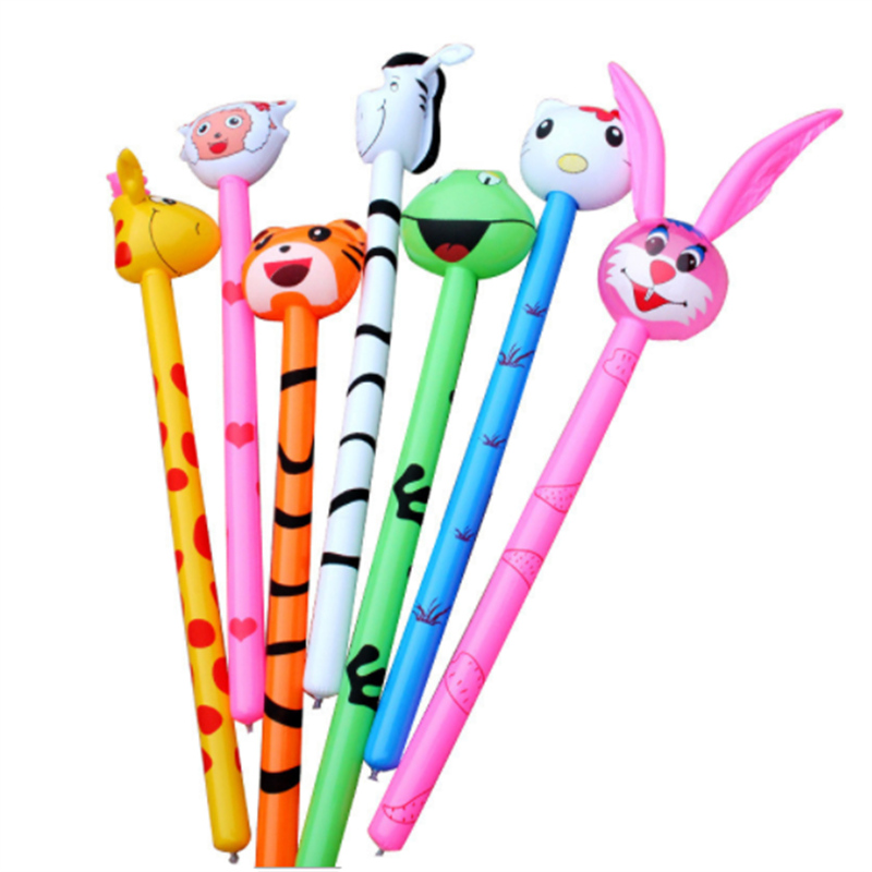 Inflatable Hammer No wounding weapon Stick Baby Children Toys inflatable animal toy