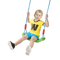 Safety plastic toy kids outdoor hanging toy swings