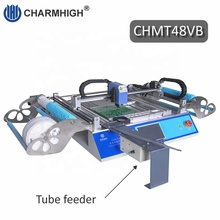 58 Feeders CHM-T48VB SMTเครื่องPick And Place + Vibration Feeder PCสร้าง,all-In-One Chmt48vb
