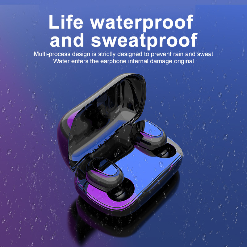 Earphone sport wireless earphones custom headset for promotions