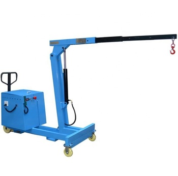 European Style Mini Fold Electric Mobile Lifting Arm Cranes