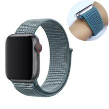 Спортивные петли для apple watch полоса 40 мм, 38 мм, 44 мм, 42 мм, iwatch, версия apple watch в едином положении во время занятий легкой атлетикой, 5/4/3/2/1 двухсло...(Китай)