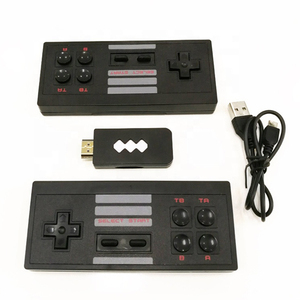 2020 New Wireless USB Video Game Console Support HD TV Out Built-in 568 Classic Video Games Dual Handheld Gamepads