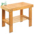 Durable Anti-Slip Large Multifunctional Bamboo Stool Seat With Storage Shelf Assembly Needed