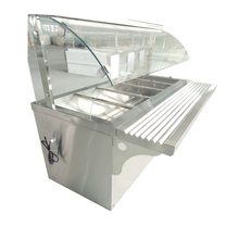 <span class=keywords><strong>Restaurant</strong></span> <span class=keywords><strong>apparatuur</strong></span> <span class=keywords><strong>keuken</strong></span> catering elektrische voedsel warmer showcase display