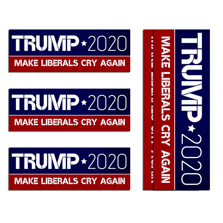 Decalcomanie Donald Trump Joe Biden Adesivi per Auto Adesivo per vetri per Auto Adesivo per vetri per Auto in PVC Impermeabile Adesivi e Decalcomanie per Auto