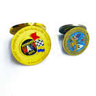 Coins Wholesale High Quality Cheap Custom Zinc Alloy Metal Challenge Coins With Soft Enamel