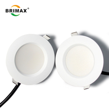 Nouveau โมเดล Super mince En อลูมิเนียม 12 W Haute luminosite 1080lm rond LED downlight Leger
