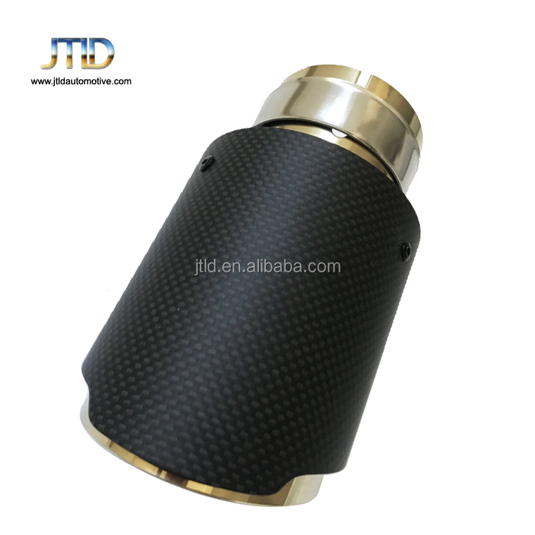 high performance universal carbon fiber exhaust tip for car