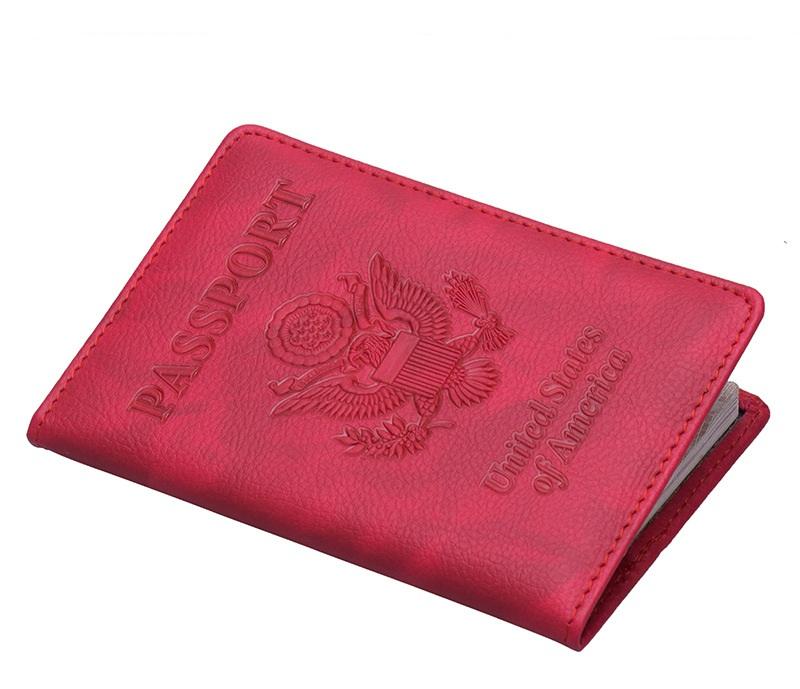 Fashionable Cheap Rfid Blocking Travel Passport Holder