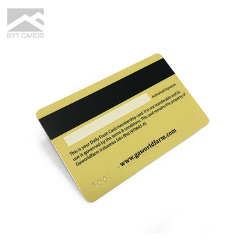 High Quality Blank Embossed plastic pvc blank visa credit cards