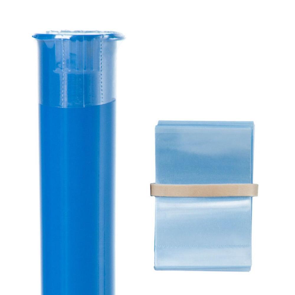 Band Glas Dropper Flasche Verpackung PVC PET Schrumpfschlauch Film Druck Klar Transluzente Kunststoff Schrumpfen Label