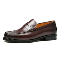 Newest dress shoes loafers black driving men shoes