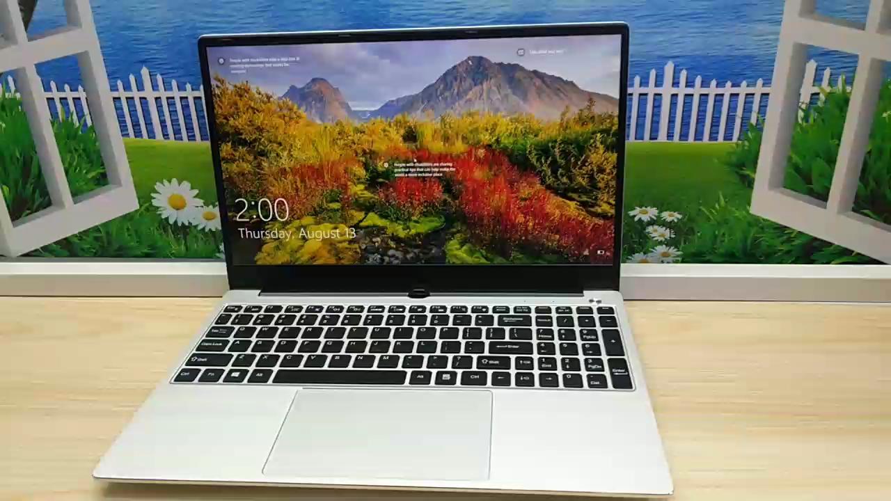 고품질 15.6 인치 슬림 노트북 인텔 코어 i7 4500/6500U 16GB RAM 노트북 게임용 컴퓨터 및 사무실