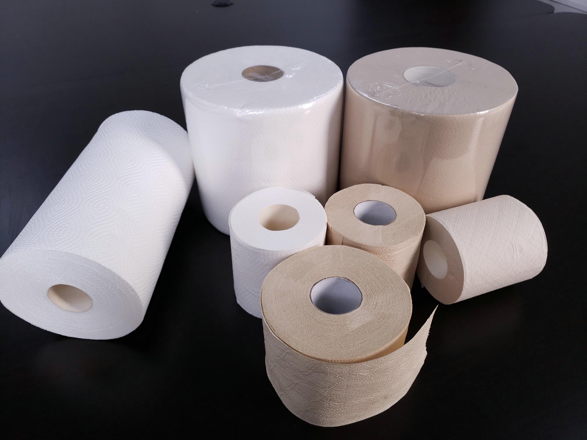 שרותים רקמות נייר 100% עץ עיסת & לערבב עיסת עץ