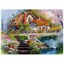 2020 Amazon Venda Quente Resinas Cross Stitch Kit Pintura Diamante Broca Completo
