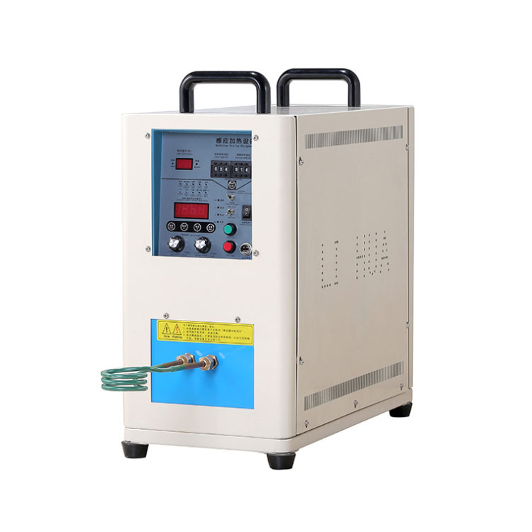 Dual station 30-80Khz 7KW induction heater for material research lab