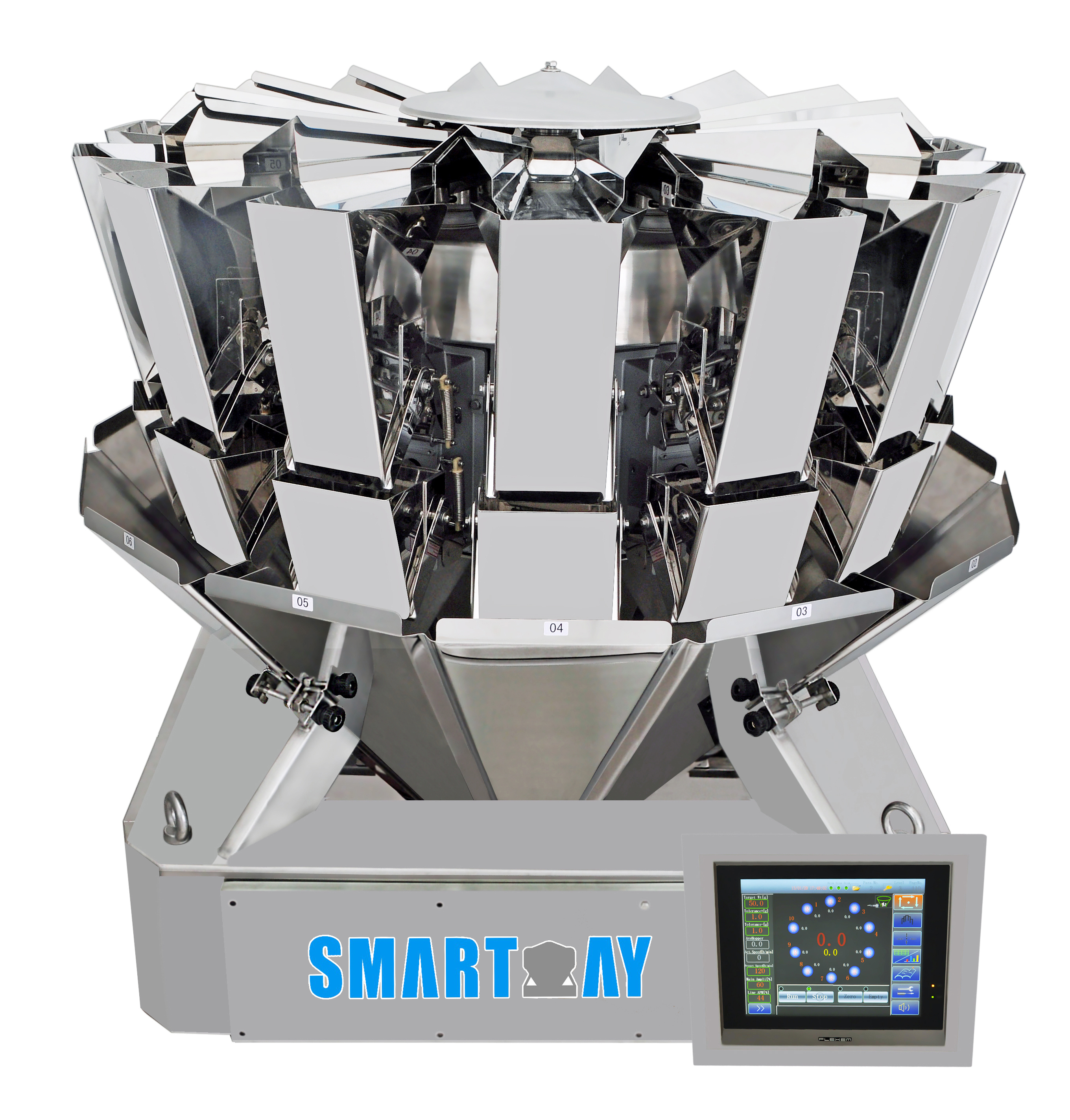 chinese multihead weigher feeding with good price for food labeling-4