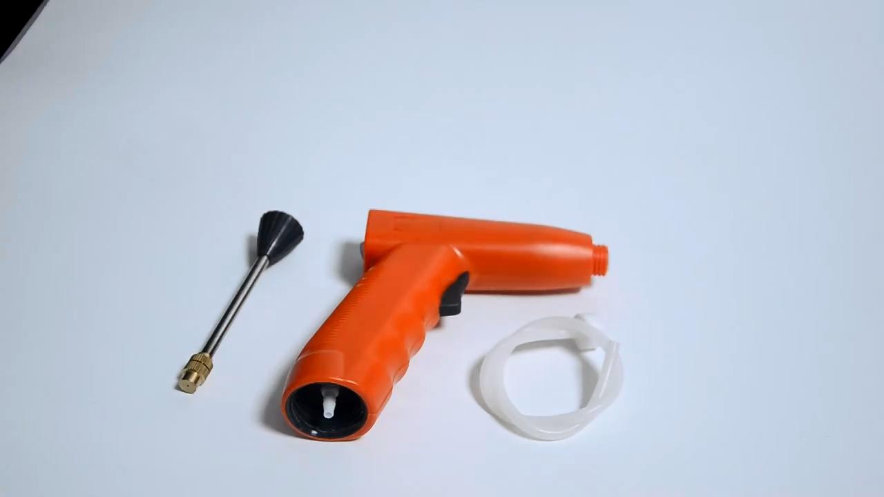 Electric Sprayer Portable Fogger Machine Hair Nano Spray Gun Disinfection
