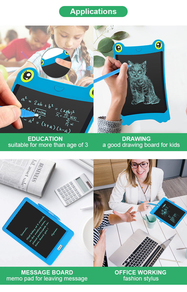 Newyes Direct Sales Electronic Memo Pad 8.5 Inches Paperless Lcd Writing Board Drawing Tablet