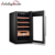 China commercial display cigar cooler humidors with led light display