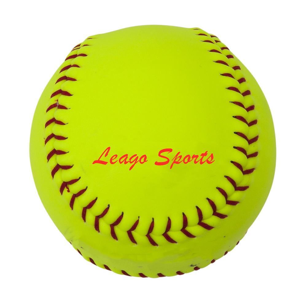 11 inch Fast pitch softball optic gelb Leder polycore COR 47 Softball