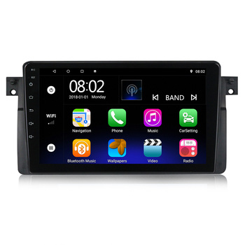 Android 10.0 quad core 2+32G Car video Player For BMW 3 Series M3 E46 316i 318i GPS Navigation Car Audio GPS BT