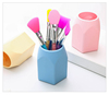 OEM Colorful Christmas Gift Silicone Pen Holder Pen Stand/Pen Container