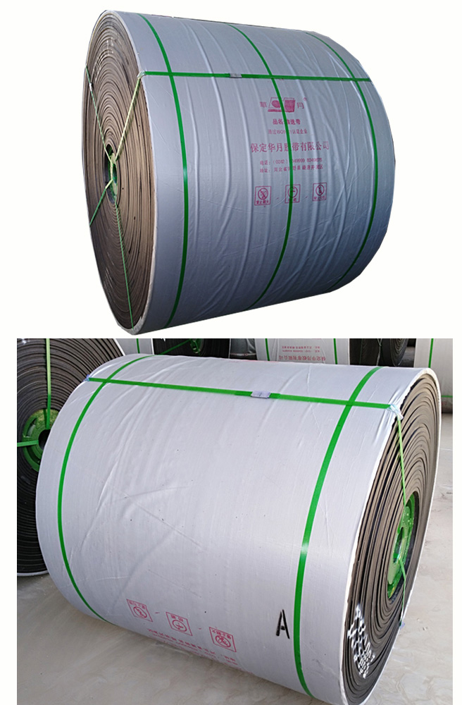 Fire Resistant Anti-Static 680S~2500S PVC/PVG Conveyor Belts with Solid Woven Fabric