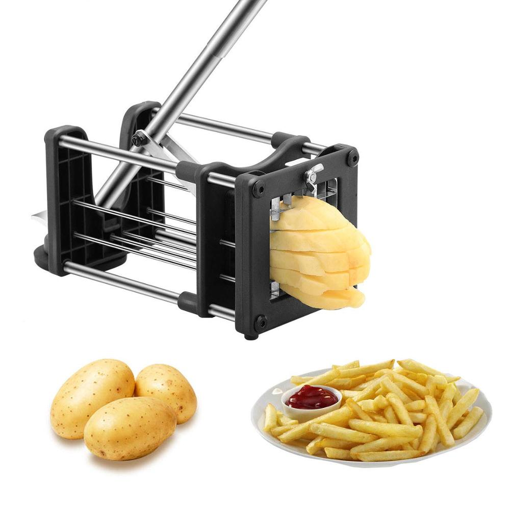 Manual Stainless Steel Twisted Potato Slicer <strong>Spiral</strong> French Fry <strong>Vegetable</strong> <strong>Cutter</strong>