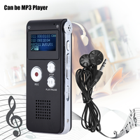 SK-012 Dictaphone MP3 player Stereo Audio Digital USB Voice Recorder 4G 8G