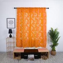 Новые многоцветные полые листья, цветы, полупрозрачные оконные экраны для дома, свадебные украшения, фоновые шторы(Китай)