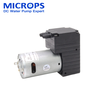 Microps Low Pressure Slient Luxurious Food Grade 12v 24v DC Mini Oil Free Diaphragm Vacuum Pump for Beauty Equipment