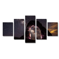 Modern Abstract Star Sky Decorative Canvas Art Work Wall Painting