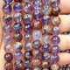 2019 Wholesale 6mm 8mm 10mm Natural Stone Amethyst Crystal Loose Gemstone Beads for Jewelry Making