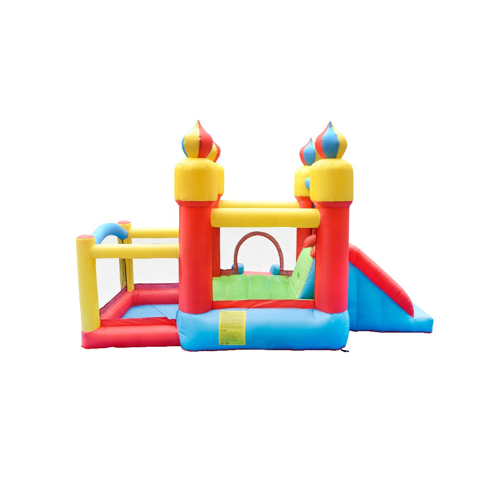 Cheap Price Nylon Commercial Small Air Jumping Castle Theme Inflatable Balloon Bouncer with Slide