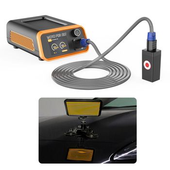 WOYO Magnetic Machine 110v/220v dent repair Heater Hotbox PDR 007 reflector lamp board For car Dent detect and  Repair