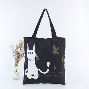 Customized logo printing eco friendly reusable fabric shopping cotton canvas tote bags with zipper