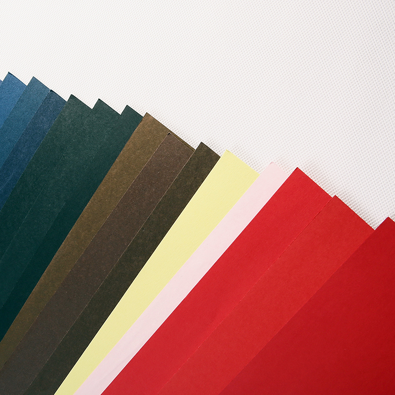 ที่มีสีสันกระดาษสี Origami สำหรับป้ายการ์ดสีเหลือง 65lb