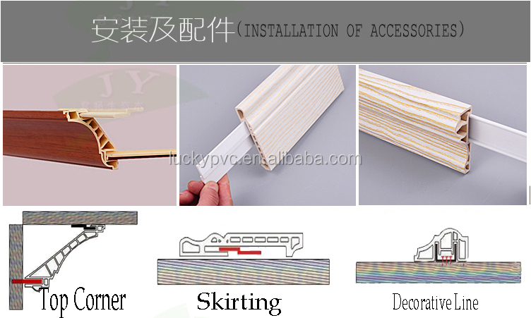 Integrated Premium Waterproof PVC Shower Wall Decorative Panels