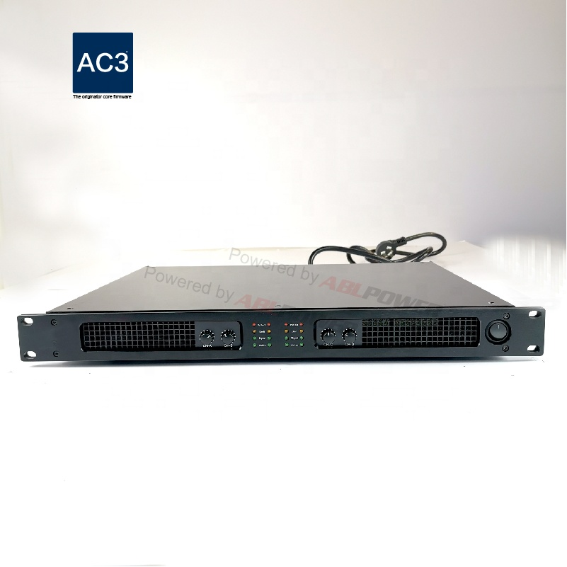 पेशेवर 1500W * 4 शक्ति amp 1U कक्षा डी ध्वनि डिजिटल शक्ति एम्पलीफायर आयातित मूल