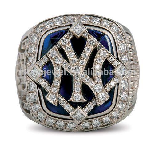 FILIGREE WHOLESALE AMAZING CUSTOM Baseball CHAMPIONSHIP RINGS IN WHITE GOLD PLATED