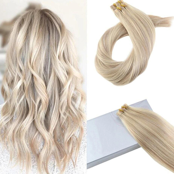 Remy Human Hair Extensions Tape in Hair #8/60 Balayage Color 2.5g per pieces tape hair extension
