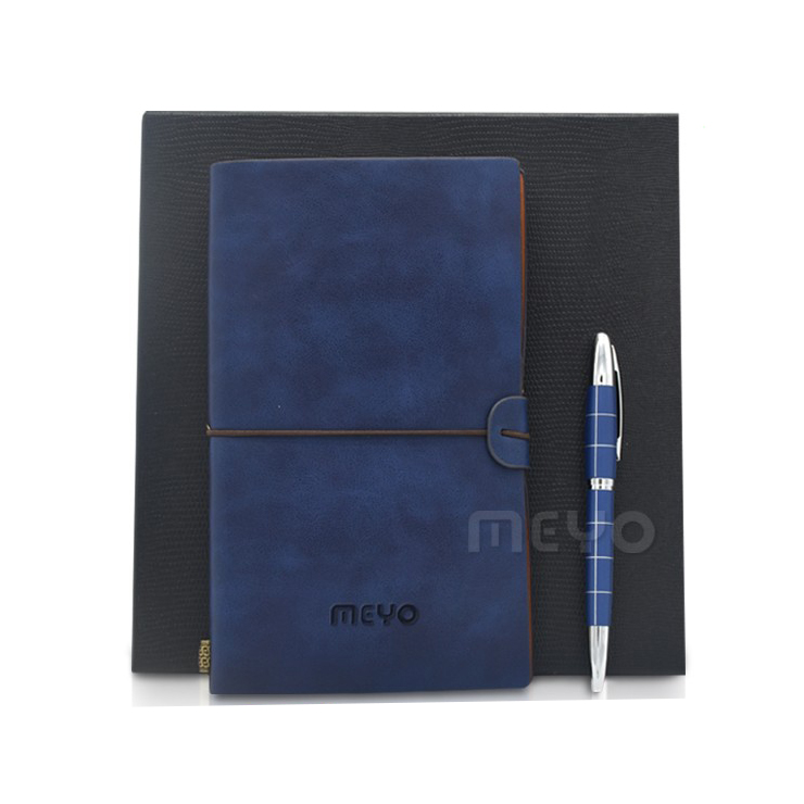 Cool business gifts notebook with pen company gifts