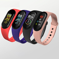 smart watch waterproof latest 2019 ladies sport fitness bracelet wristband bluetooth slim electronic mens smart watch M4