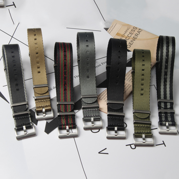 Custom nylon watch straps seatbelt nato straps 20mm 22mm watch bands