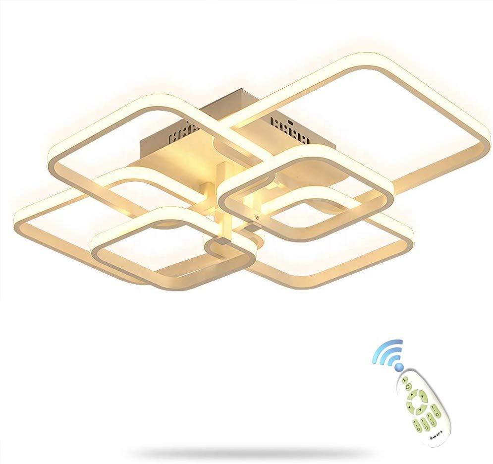 72W Modern LED Light Ceiling Lamp Chandelier Lighting for Living Room